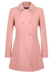 Spring Fashion 2015 - Miss Selfridge Double Breasted Coat