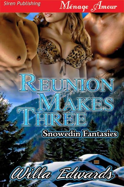 Hot, Sexy and Shared- Erotic Romance Novels by Peyton Brittany Clarke: Reunion Makes Three; An MMF by Willa Edwards