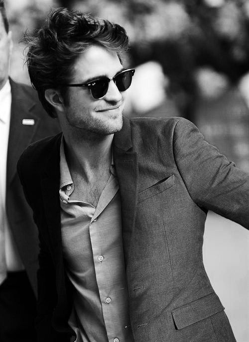 robert pattinson. So this is more about him being freaking hilarious and less about him being attractive-but he's still a cutie.