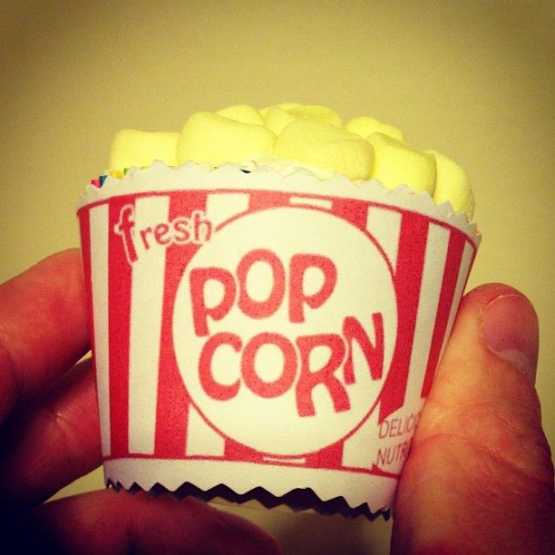 Fun Popcorn Cupcakes Are So Easy To Make!