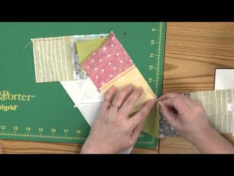 Sew Easy: Set-In Half Hexagon Seams - YouTube