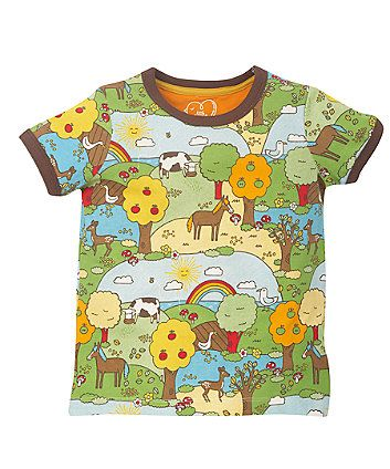 Little Bird By Jools Retro Fun T-Shirt