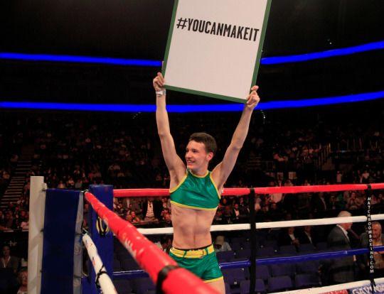 La increíble historia del joven que quería debutar en un ring de boxeo…pero no del modo que te imaginas | Blog de Noticias - Yahoo Noticias