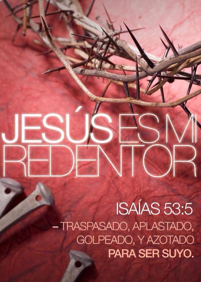 Isaías 53:5 Mas él herido fue por nuestras rebeliones, molido por nuestros pecados; el castigo de nuestra paz fue sobre él, y por su llaga fuimos nosotros curados. Isaías 53:11 Verá el fruto de la aflicción de su alma, y quedará satisfecho; por su conocimiento justificará mi siervo justo a muchos, y llevará las iniquidades de ellos.♔