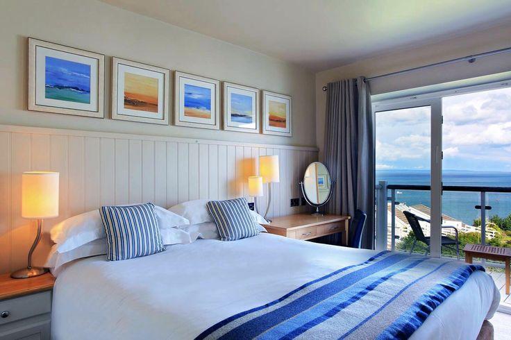 Sea View Room at St.Brides Spa Hotel, Saundersfoot.