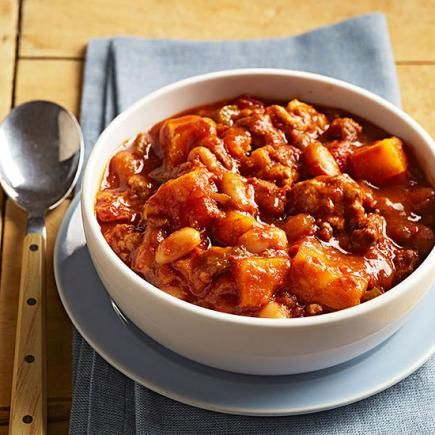 Pumpkin Chili: This recipe, submitted by Melanie Madore of Ashland, Missouri, was a finalist in our recipe contest. Unlike many pumpkin chilis, what sets this one apart is using cubed pumpkin (or butternut squash) rather than canned.