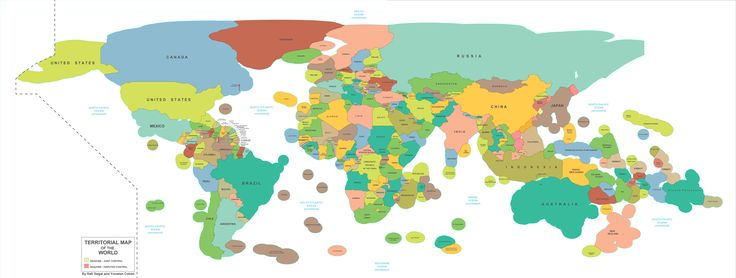 Map of every country's Exclusive Economic Zone - Vivid Maps