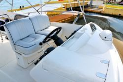 Cool Seats you can recover yourself - for help visit; http://buildapontoonboat.com/pontoon-boat-seats-recover-them-yourself-why-not/