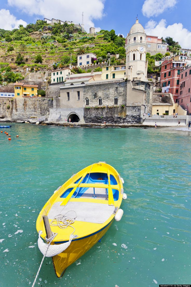 Riomaggiare, Italy:  The Most Beautiful Place in the World (Huffington Post Article with glorious photos)