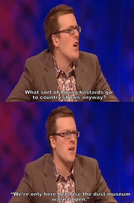 When he pointed out this inescapable truth. | 28 Times Frankie Boyle Proved That He's Scotland's Funniest Comedian