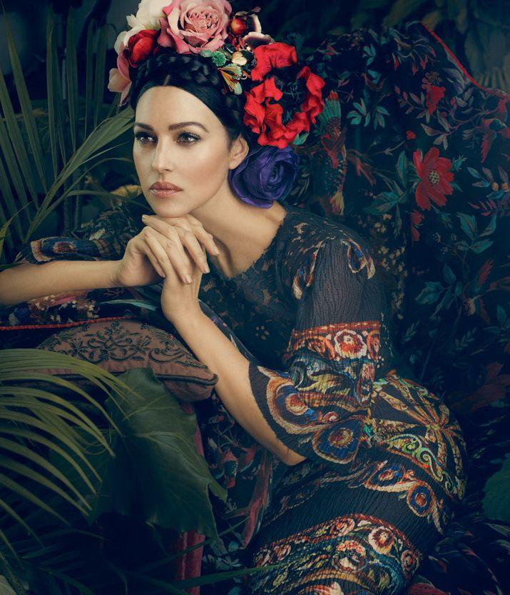 Несравненная Моника Белуччи в образе Фриды Кало для Dolce & Gabbana! | Мой мир в фотографиях