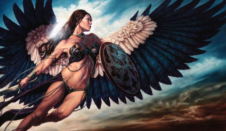 Angel with a Sword :: Athena  by ~Michael-C-Hayes :: Deviant Art