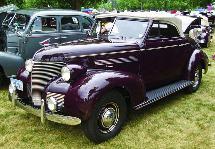 1939 Chev Roadster. Exported to the US & authentically restored.