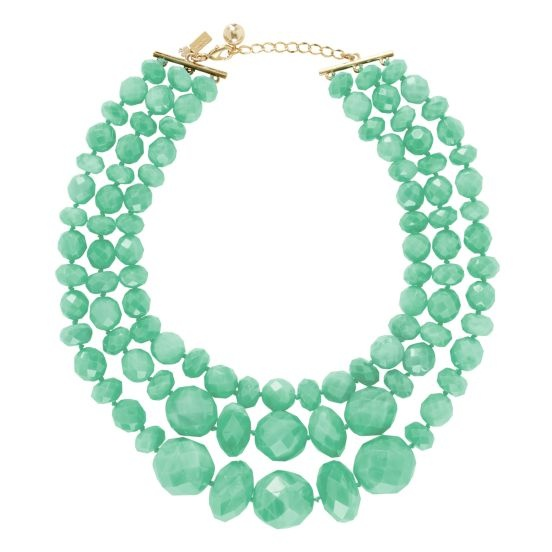 kate spade   give it a swirl statement necklace