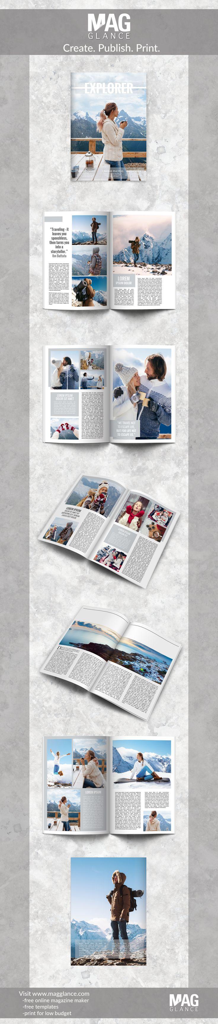 les 25 meilleures id u00e9es de la cat u00e9gorie mise en page de magazines sur pinterest