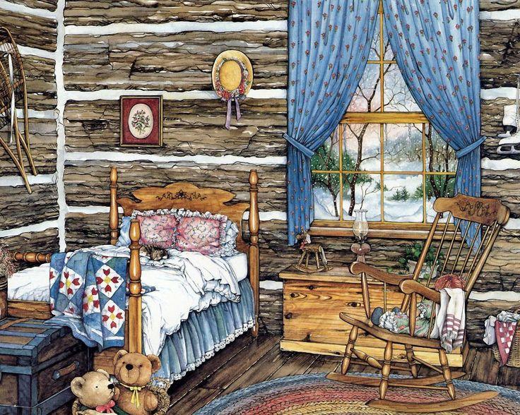 yatak odası çizim
