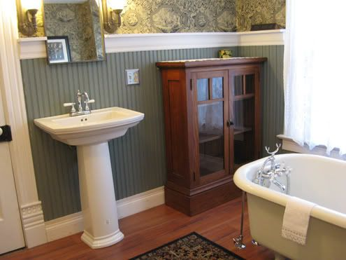 _d Finishes Bathroom! Find This Pin And More On Old House Interiors ...