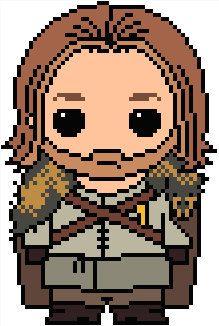 "Game of Thrones: Eddard ""Ned"" Stark PDF Chart Pattern"