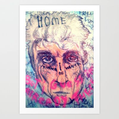 David Byrne Art Print by Shane R. Murphy - $15.00