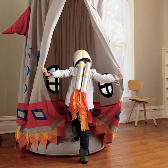 Kids Play Tents Rocket Ship Play Tent In Playhomes Amp Soft