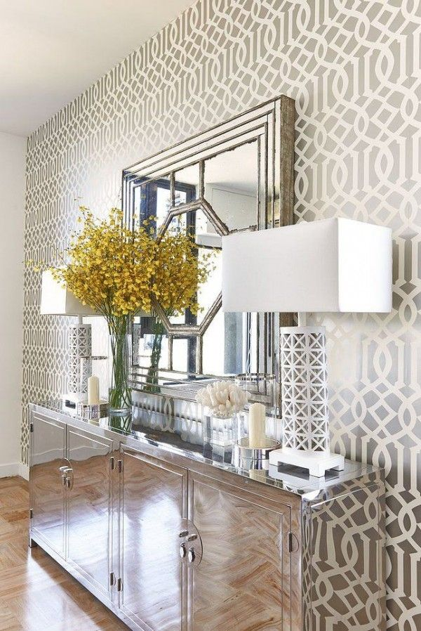 26 Hallway Wallpaper Decorating Ideas | Home Decor | Pinterest | Hallway  Wallpaper, Wallpaper And Foyers