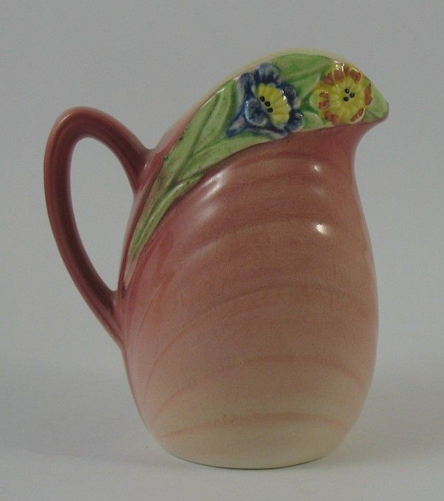 Small Vintage 4 Shorter and Son Staffordshire Hand Painted Rose Bouquet Jug Pitcher c 1950 s