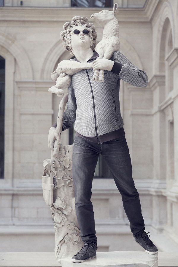 Así se ven nueve estatuas famosas acicaladas al estilo actual » The Clinic Online