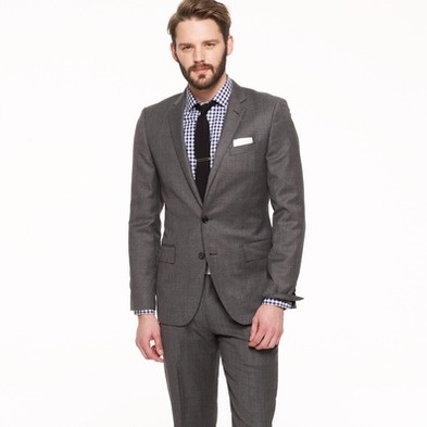 Dark Grey Suit Black Shirt | My Dress Tip