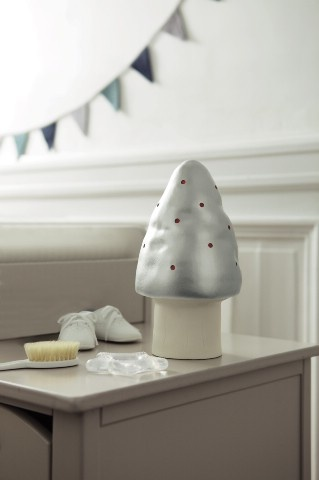 Lampe champignon pour la chambre de bébé