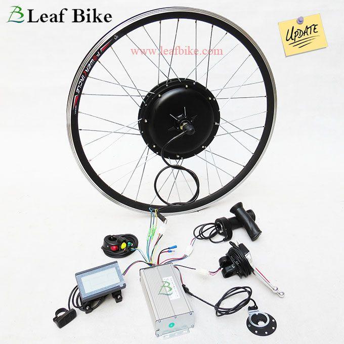 28 Inch 36v 750w Rear Hub Motor Electric Bike Conversion Kit