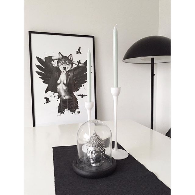 The bigger, the better SHE WOLF✖️ #poster #design #interior #scandinavian #nordic #black #white