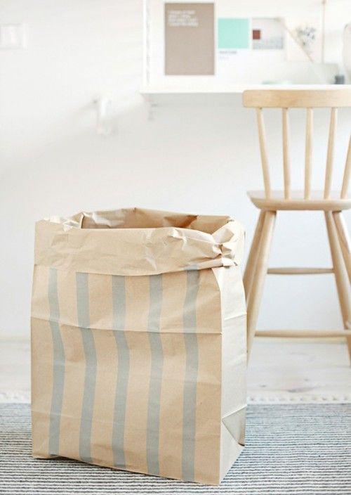 lightDiy Crafts Ideas, Diy Inspiration, Packaging, Paper Bags, Stripes Stripes, Interiors Home Deco, Interiors Exterior, Diy Paper, Paperbag