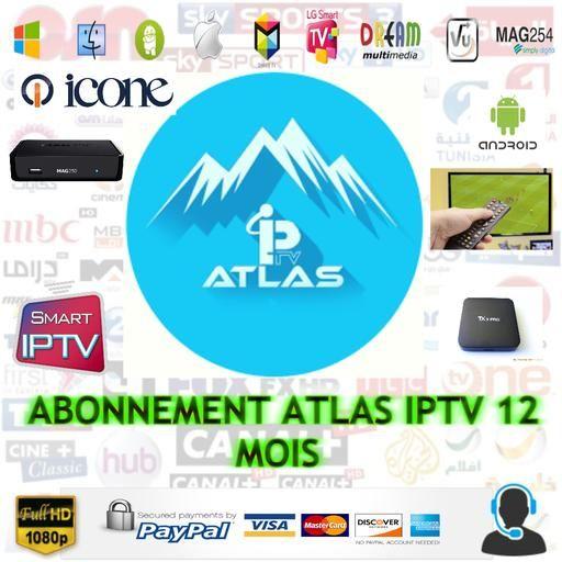 Ventes d'abonnements IPTV et Starsat,Géant,7star,atlas pro,Gshare