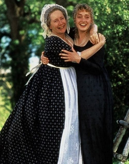 Gemma Jones and Kate Winslet in Sense and Sensibility - 1995