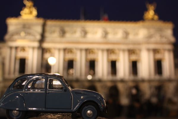 "2CV Week #8 PARIS PHOTO CHALLENGE: Think you know Paris? Each week I will be posting a picture of my Citroen 2CV car in front of a famous Parisian monument or location. Follow the challenge using the hashtag #JansFrance2CV on Twitter or Instagram or check out my website and make your guess. At the end of each week I will post the answer on my website under ""Paris"""
