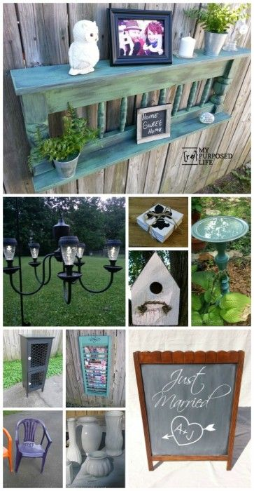 Oh my gosh   Over 250 EASY projects-all kinds.  Crafts, wood, garden, repurposed and so much more.