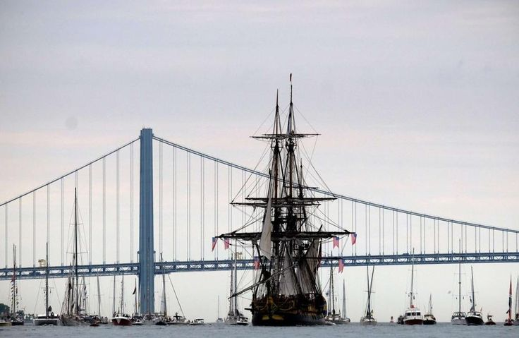 «L'Hermione» vedette de l'Independence Day à New York