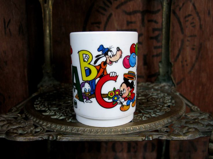 Superseal Disney Tumbler, Mickey Mouse, Minnie Mouse, Disney Cup, Goofy, Mickey And Minnie, Disneyana, Donald Duck, Childs Cup, Disney Gift by MissieMooVintageRoom on Etsy