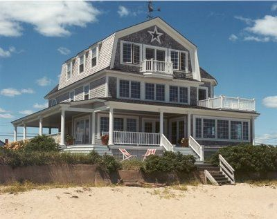 nantucket style homes | love that Nantucket style, gorgeous. This is the perfect house, and ...