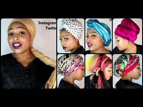 Head Wraps TUTORIAL (Chemo & Hair loss friendly) [See Timeline] - YouTube