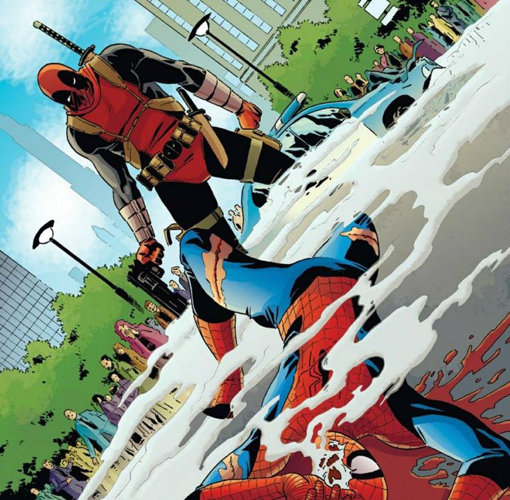 21 Best Spidey Vs Deadpool Images On Pinterest Comic