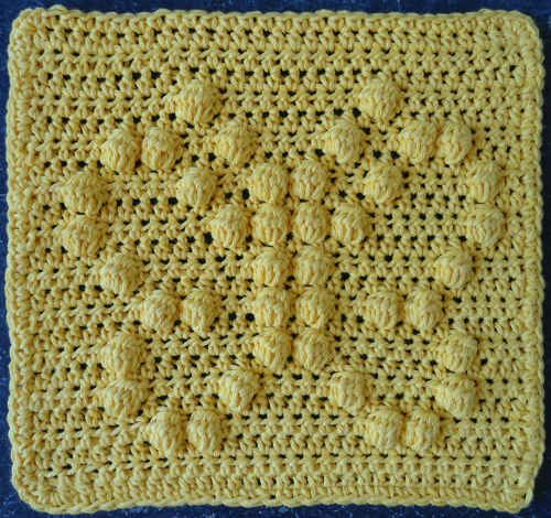Best Free Crochet » #171 Butterfly Crochet Dishcloth – Maggie Weldon Maggies Crochet