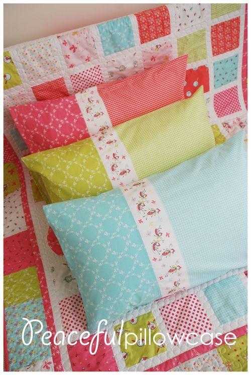 Pillow Case Designs Ideas: 163 best images about Pillowcases on Pinterest,