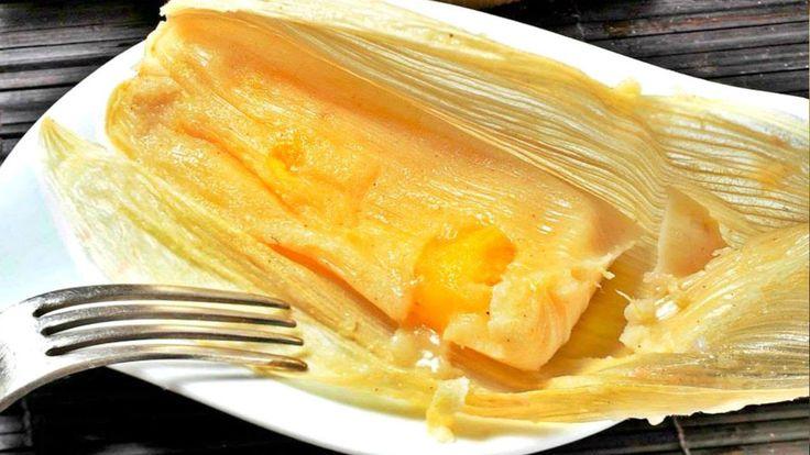 Receta tamales de naranja / Cómo hacer tamales de naranja / Día de la ca...