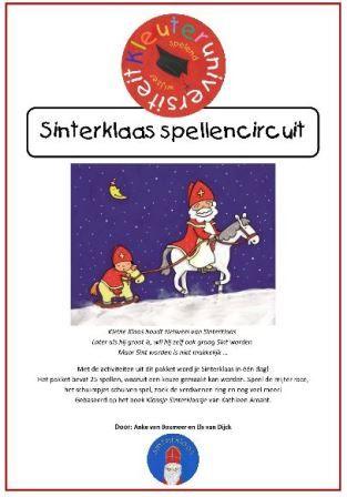 Feest: spellencircuit Sinterklaas