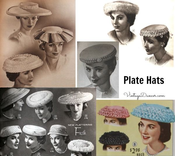 1950s Womens Hats By Style Hats For Women Veiled Hats Fascinator