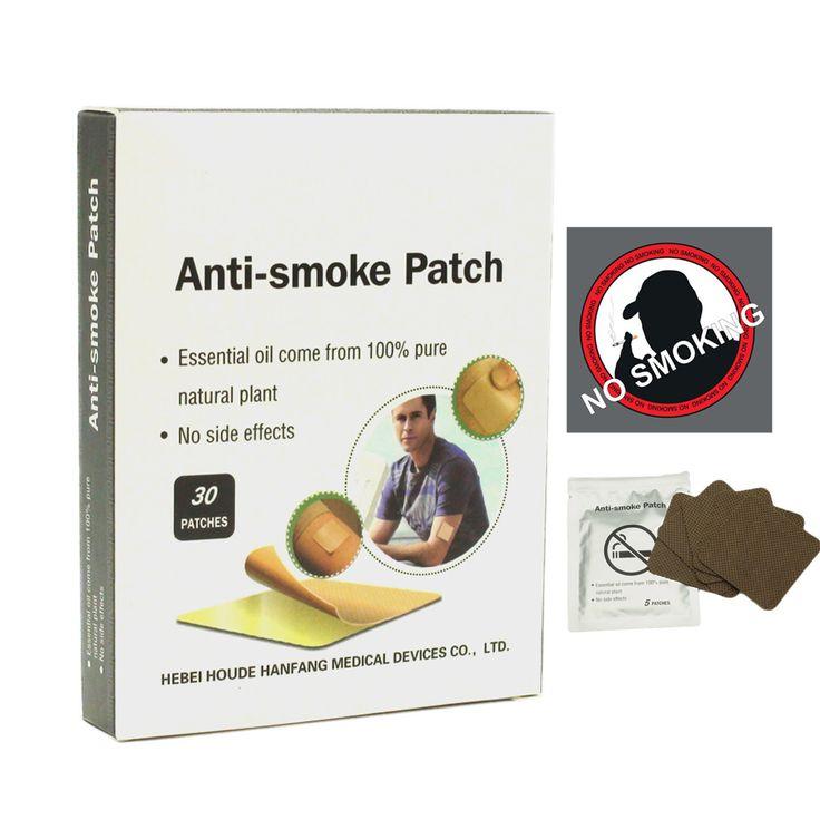 30 Patches Stop Smoking Cessation 100% Natural Ingredient Quit Smoking Nikotin Stop Smoking No Cigarettes Anti Smoke Patch C744