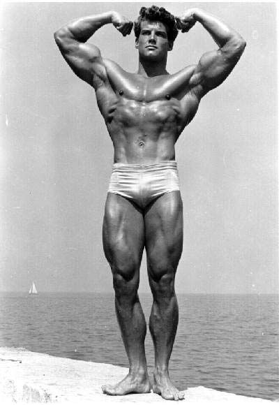 The Steve Reeves solution for size, strength, and health