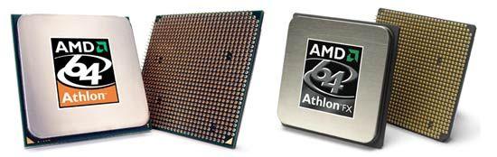 AMD Athlon 64 4000+ vs FX-55