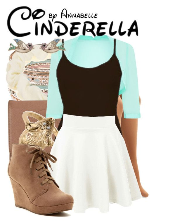 Cinderella by annabelle-95 on Polyvore featuring BKE core, Monsoon, Rampage, Chanel, Accessorize and NLY Accessories